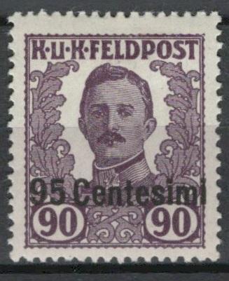 Rakousko / Österreich 1918/19 - FELDPOST - ITALIEN - ANK / Mi. XIII *