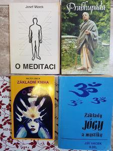 MAXI SOUBOR 9 knih: MYSTIKA, JOGA, KABALA, I-TING, REIKI....