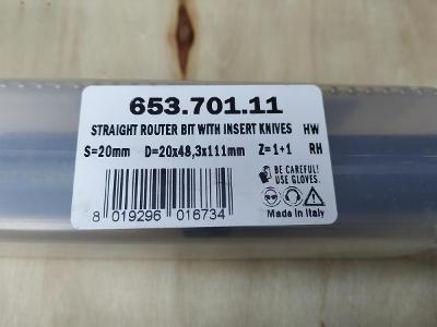 Fréza 653.701.11 S=20mm D=20x48,3x111