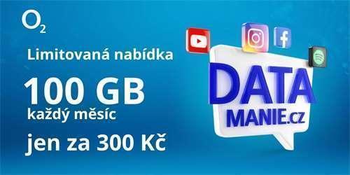 O2 KARTA 100GB / měsíc