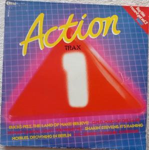 Action Traxx(K.Wilde,XTC,E.Costello.Ultravox)-K-TEL UK press 1981 - VG