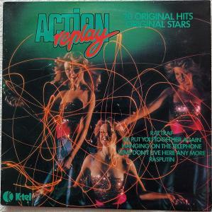 Action Replay (Smokie,Boney M,DEVO)K-TEL 1978 UK presVG+