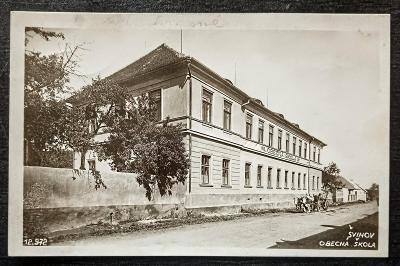 Švihov obecná škola 1934 top stav