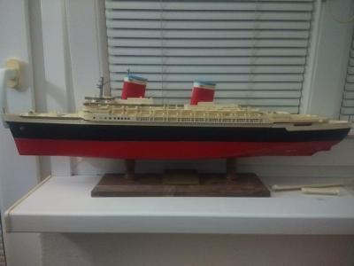 SS United States model z 50 let