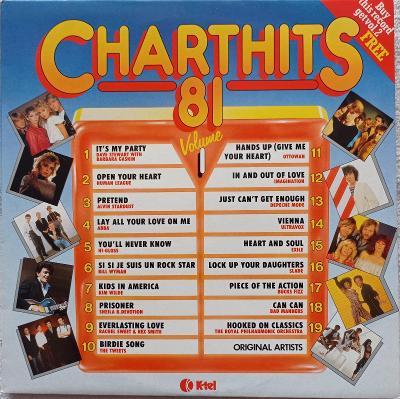 Charthits 81(Human League,ABBA,K.Wilde,Depeche )K-TEL 1981UK press VG+