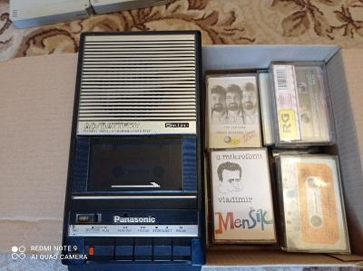 Kazetový magnetofon Panasonic