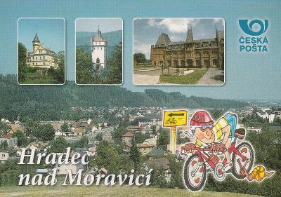 Hradec nad Moravicí -  Pěkné léto přeje Česká pošta
