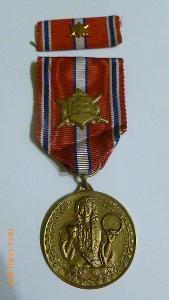 Pamätná medaila za vernosť a brannosť Slovenska v rokoch 1918-1938