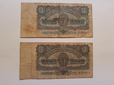 Bankovka 1961 2x