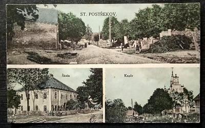 Starý Postřekov 1929 krásný stav