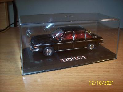 Tatra 613  1:43 s červeným interiérem, moc pěkná.