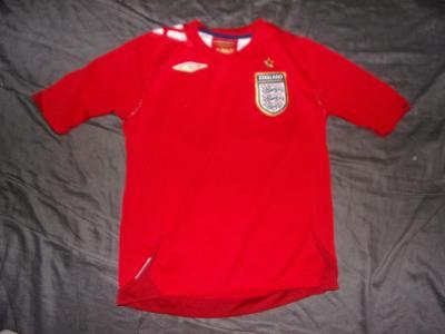 Umbro/England-pěkný repre dres vel.134