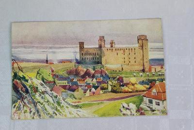 NÁDHERNÝ STAROŽITNÝ POHLED - BRATISLAVA - SLOVENSKO -1923