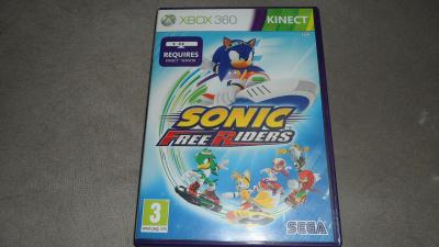 Kinect Sonic Free Riders Hra pre Xbox 360