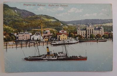 Bregenz am Bodensee - MF -  cca 1910, čistá