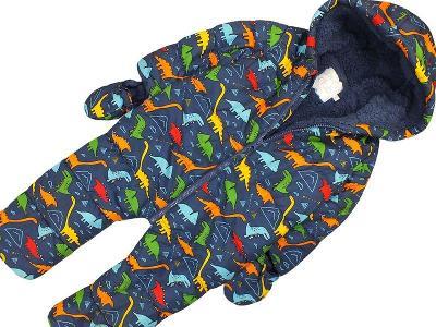 SUPER dinosauří kombinézka MINICLUB, vel.86