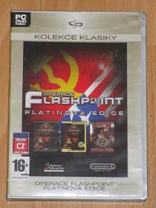 Operace Flashpoint platinová edice česká distribuce