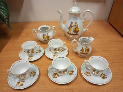 úklid - porcelán made in Yugoslavia