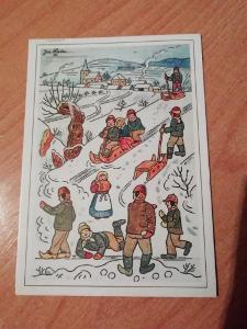 Josef Lada pohlednice