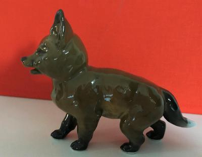 Porcelánová figurka Rosenthal Classic Rose mladá liška F. Heidenreich