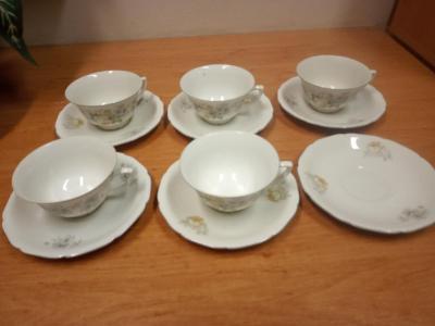 úklid - porcelán  - made in Czechoslovakia