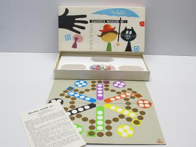 TOFA - Stará společenská hra - ČLOVĚČE NEZLOB SE!