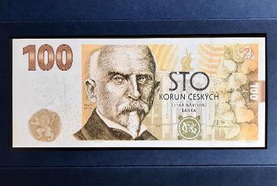 Pamětní bankovka ČNB 100 Kč 2019 - Alois Rašín - UNC - nízké číslo !!!