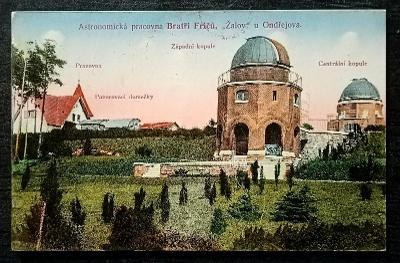 Astronomická pracovna Bratři Friců Žalov u Ondřejova krásný stav