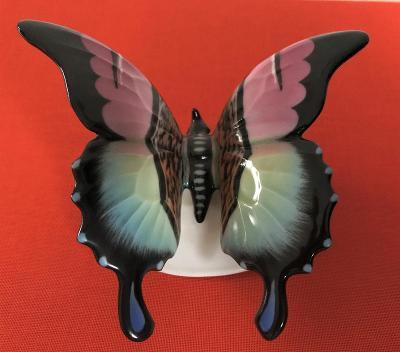 Porcelánová figurka motýl Rosenthal Classic Rose Himmelstoss