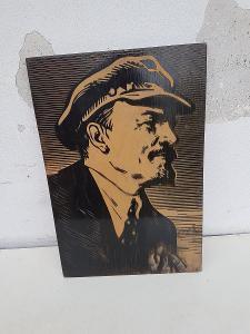 Obraz Lenina na dveře