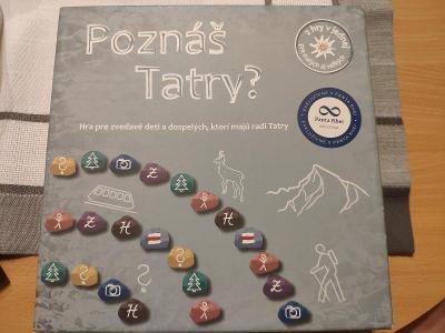 Poznáš Tatry? Společenská hra