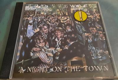 CD Rod Stewart- A night on the Town. Warner Bros. Germany. Rare.