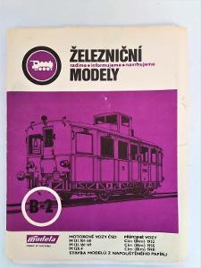 Železniční modely-ČSD-stavby modelů-rady-návody-8xfoto!!!