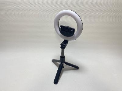 Kvalitní selfie tyč s možností stativu s dálkovým ovládáním LED záruka
