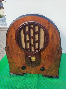 Sběratelské Rádio Philips 634-A  SUPER STAV od 1kč
