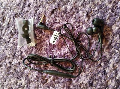 sluchátka s mikrofonem Sony Ericson, 3.5 mm jack