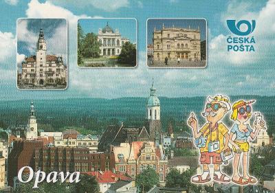 Opava -  Pěkné léto přeje Česká pošta
