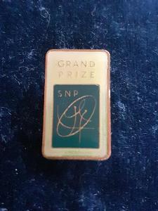 Odznak GRAND PRIZE, tmavě modrá varianta  - Sport