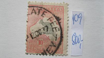 Austrálie - razítkovaná známka katalogové číslo 109