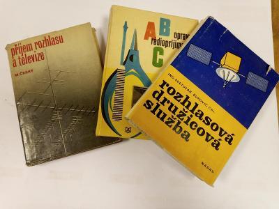 Knihy SADA Příjem rozhlasu, Opravy radiopříjímačů, Rozhlasovádružicová
