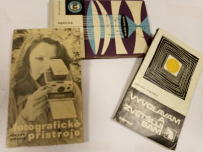 Knihy SADA Fotografické přístroje, Vyvolávám a zvětšuji sám