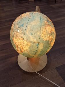 Retro globus