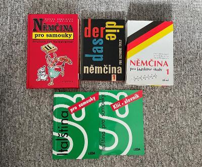 Učebnice němčiny a italštiny