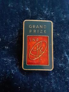 Odznak GRAND PRIZE, modročervená varianta - sport