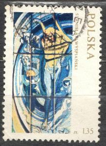 Polsko 1971 Mi 2105 vitráže, Apollo Koperník