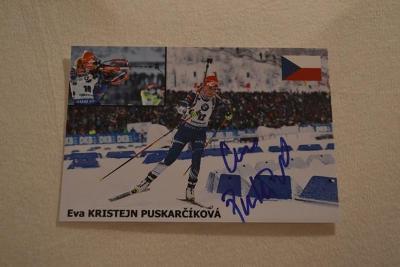 Puskarčíková Eva - biatlon