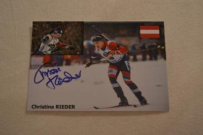 Rieder Christina - biatlon