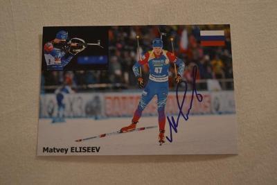 Eliseev Matvey - biatlon
