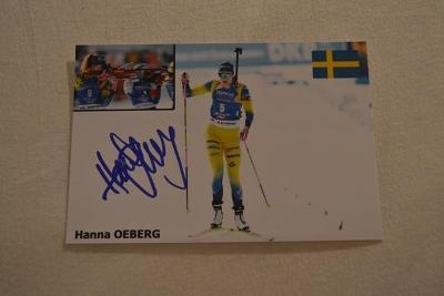 Oeberg Hanna - biatlon