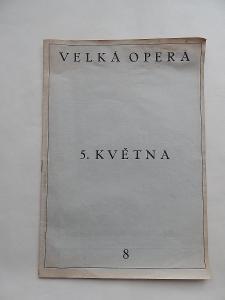 Časopis Velká opera 5. května č. 8, 1948